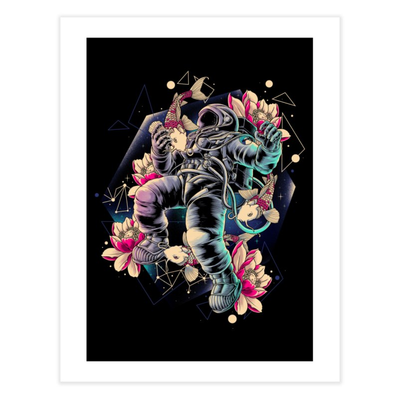 Deep Space Home Fine Art Print by angoes25's Artist Shop