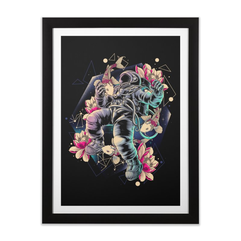 Deep Space Home Framed Fine Art Print by angoes25's Artist Shop