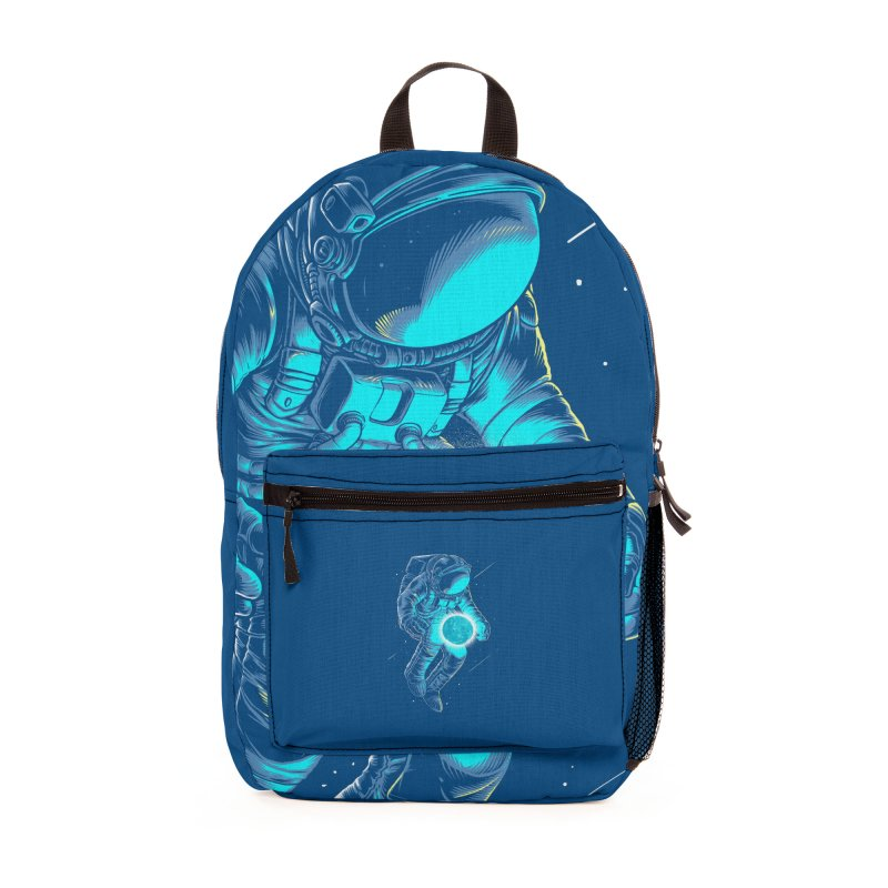 I'll hold the (blue)moon for you Accessories Bag by angoes25's Artist Shop