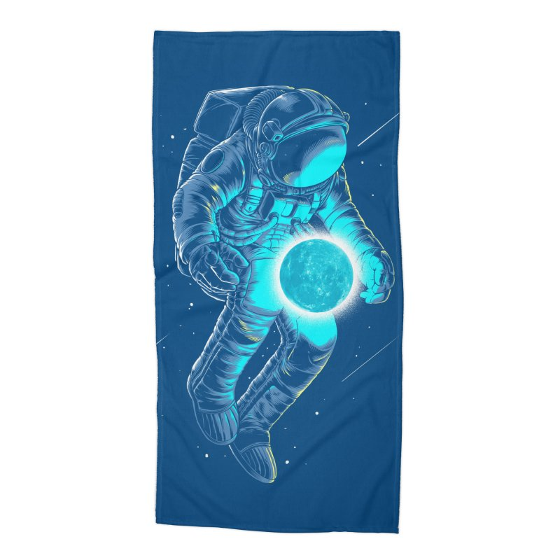 I'll hold the (blue)moon for you Accessories Beach Towel by angoes25's Artist Shop