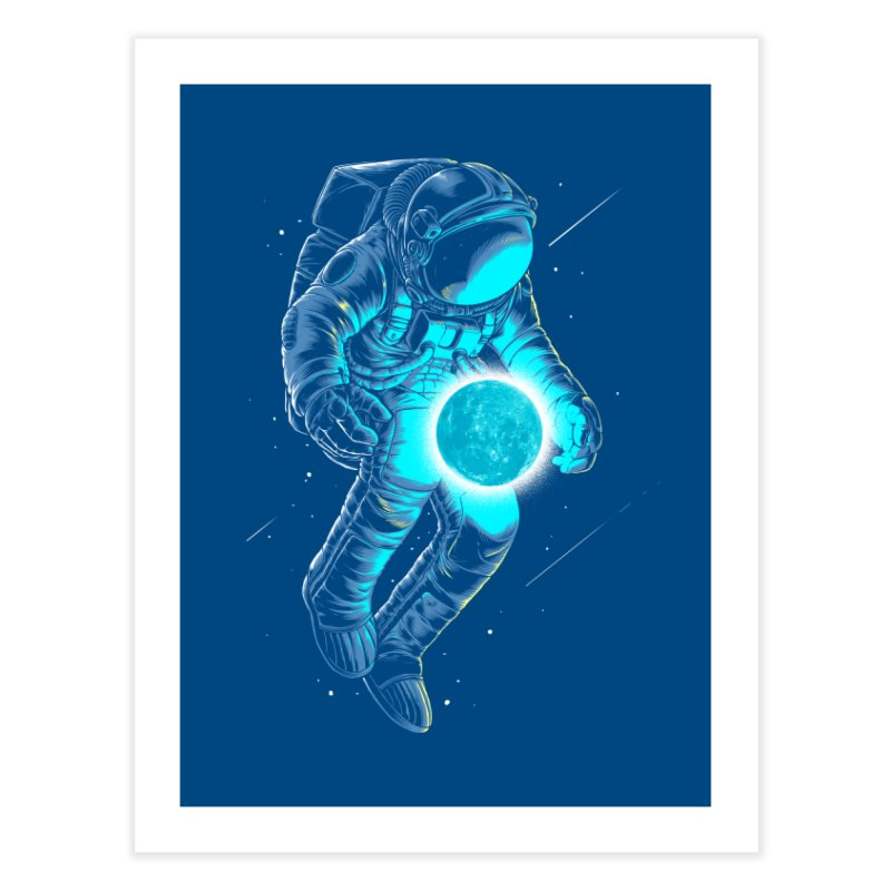 I'll hold the (blue)moon for you Home Fine Art Print by angoes25's Artist Shop