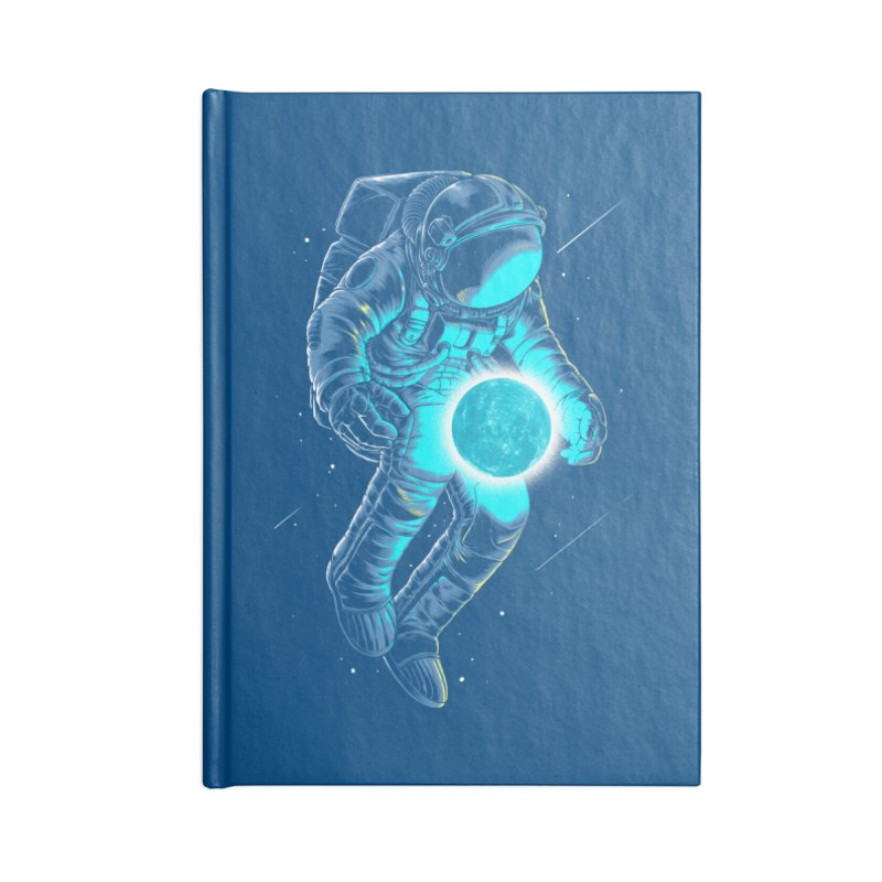 I'll hold the (blue)moon for you Accessories Notebook by angoes25's Artist Shop