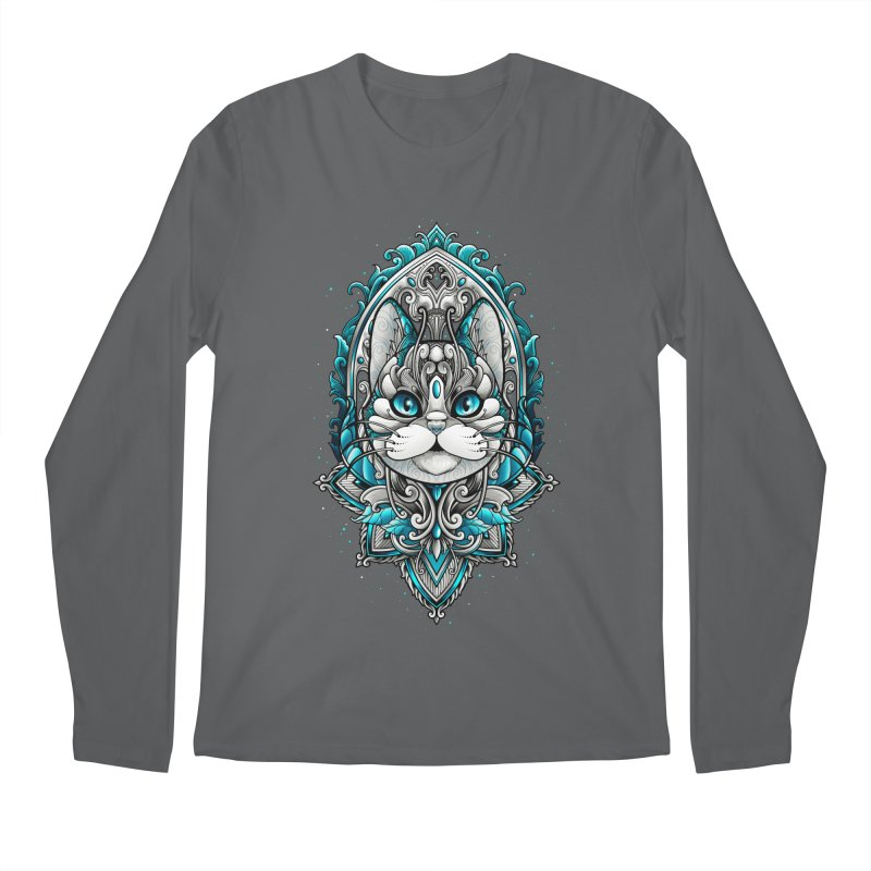 Great Cat Men's Longsleeve T-Shirt by angoes25's Artist Shop