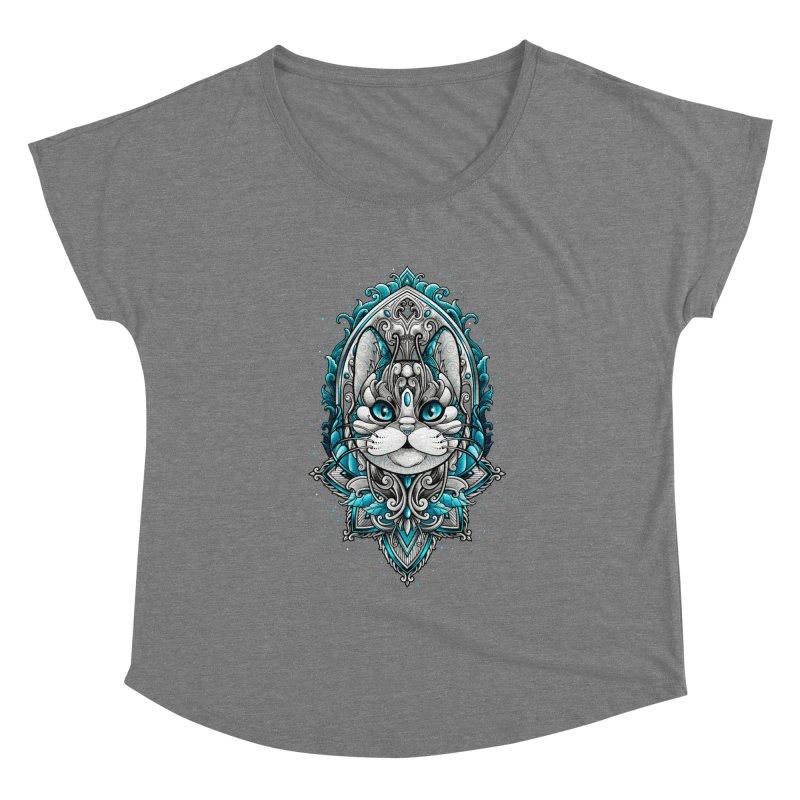Great Cat Women's Scoop Neck by angoes25's Artist Shop