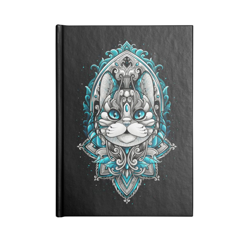 Great Cat Accessories Notebook by angoes25's Artist Shop