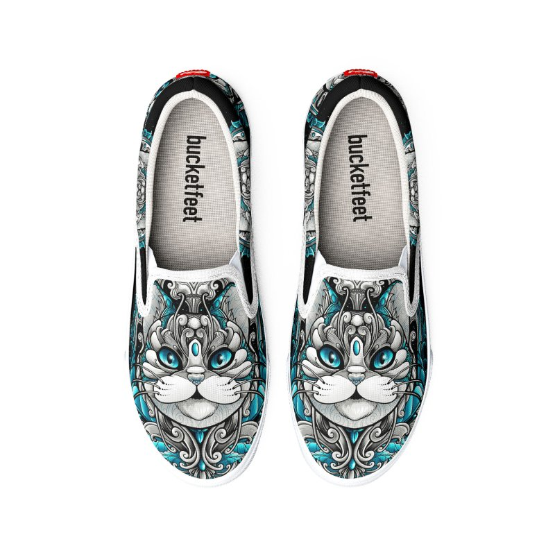 Great Cat Men's Shoes by angoes25's Artist Shop