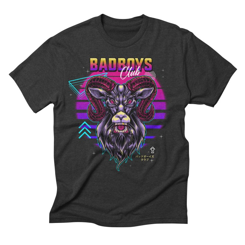 80s Badboys Club Men's T-Shirt by angoes25's Artist Shop