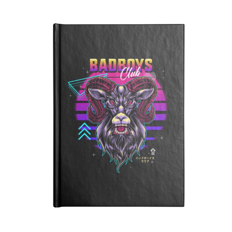 80s Badboys Club Accessories Notebook by angoes25's Artist Shop