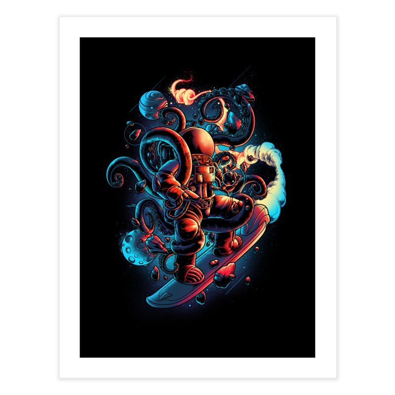 Lost in Space Home Fine Art Print by angoes25's Artist Shop