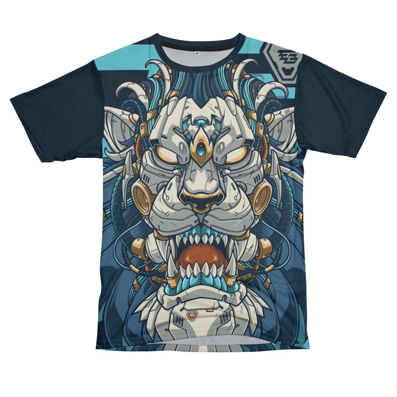 Electric Beast - Prime - Mechalion Men's Cut & Sew by angoes25's Artist Shop
