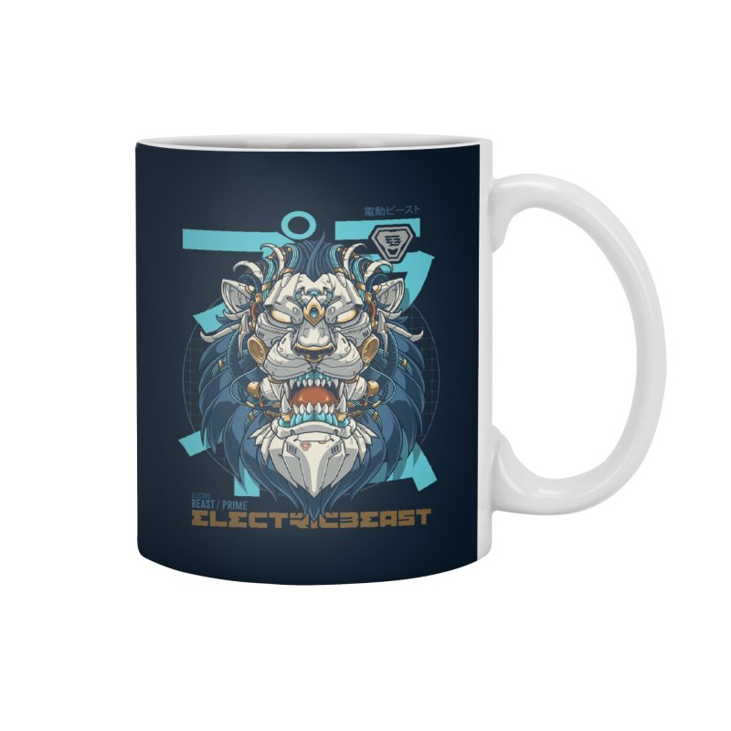Electric Beast - Prime - Mechalion Accessories Mug by angoes25's Artist Shop