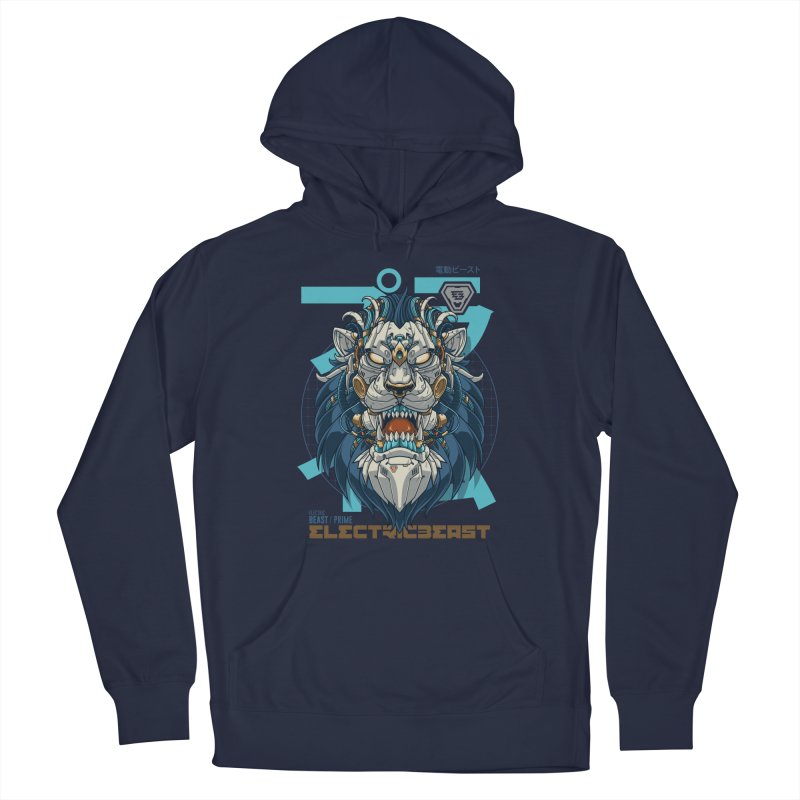 Electric Beast - Prime - Mechalion Men's Pullover Hoody by angoes25's Artist Shop