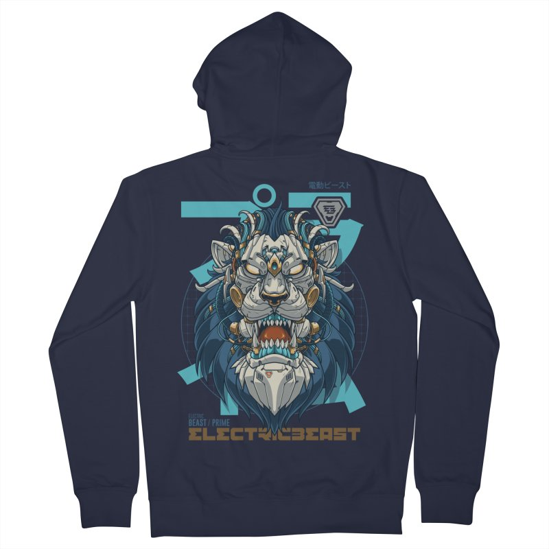 Electric Beast - Prime - Mechalion Women's Zip-Up Hoody by angoes25's Artist Shop