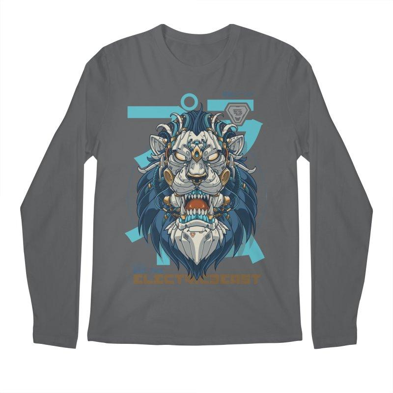 Electric Beast - Prime - Mechalion Men's Longsleeve T-Shirt by angoes25's Artist Shop