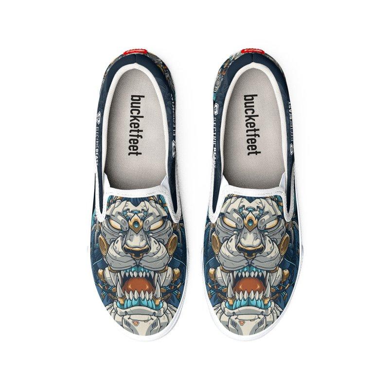 Electric Beast - Prime - Mechalion Women's Shoes by angoes25's Artist Shop