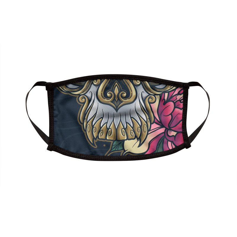 Dark and Beauty Accessories Face Mask by angoes25's Artist Shop