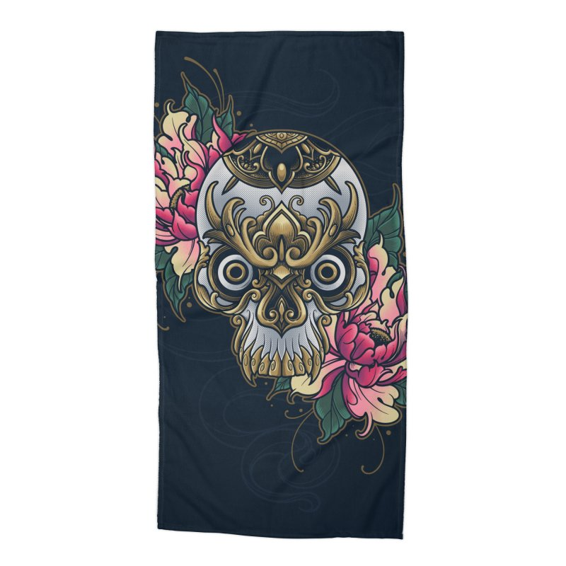 Dark and Beauty Accessories Beach Towel by angoes25's Artist Shop