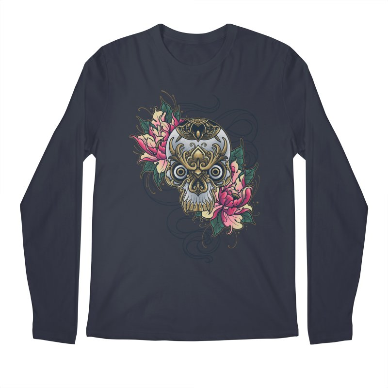 Dark and Beauty Men's Longsleeve T-Shirt by angoes25's Artist Shop