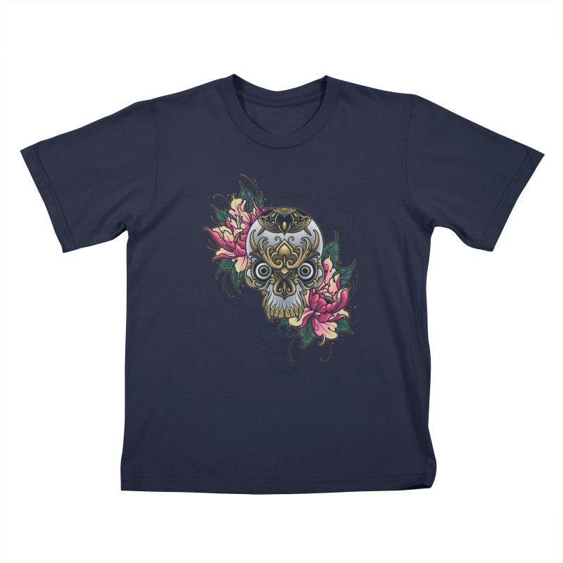 Dark and Beauty Kids T-Shirt by angoes25's Artist Shop