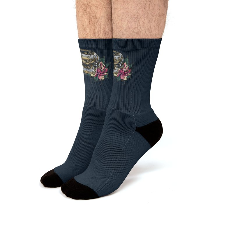 Dark and Beauty Men's Socks by angoes25's Artist Shop