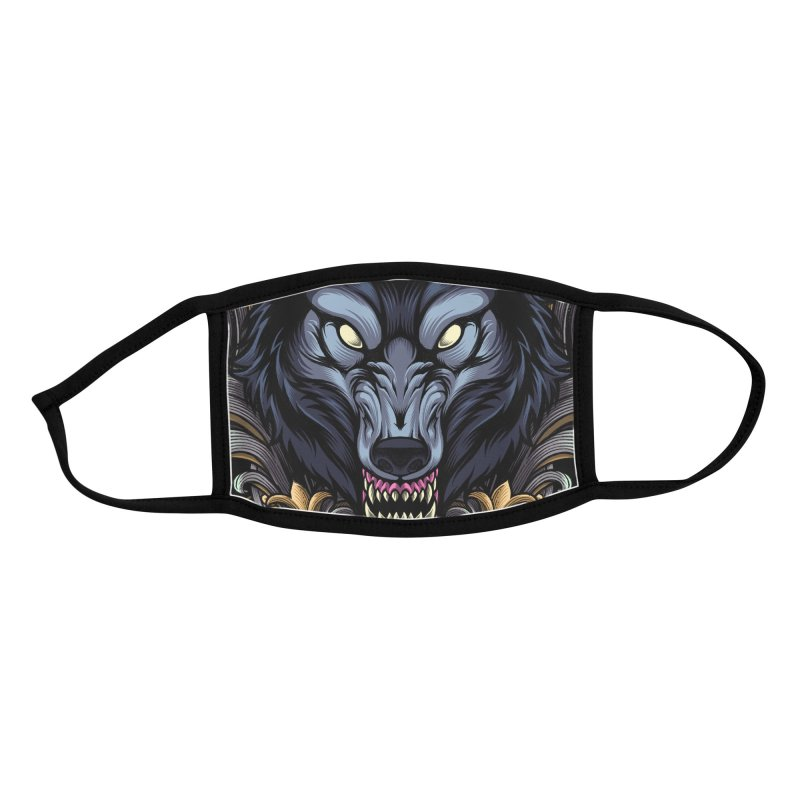 Wolf - Eternal Hunter Accessories Face Mask by angoes25's Artist Shop