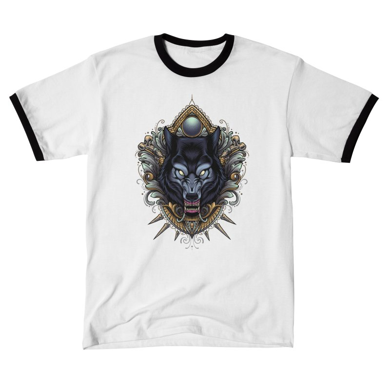 Wolf - Eternal Hunter Women's T-Shirt by angoes25's Artist Shop
