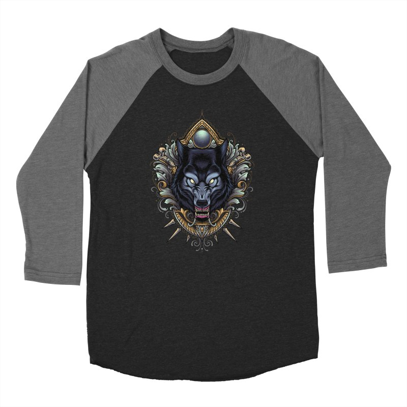 Wolf - Eternal Hunter Women's Longsleeve T-Shirt by angoes25's Artist Shop