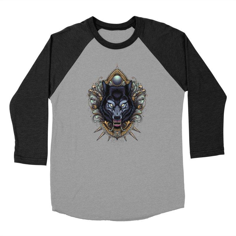 Wolf - Eternal Hunter Men's Longsleeve T-Shirt by angoes25's Artist Shop
