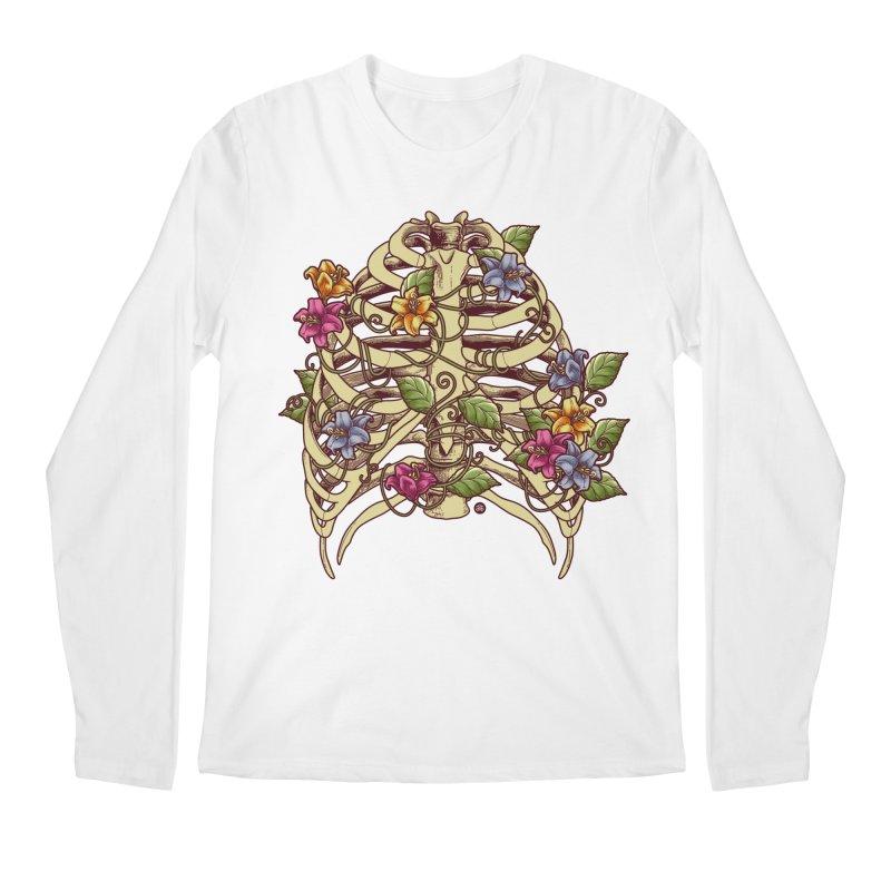 Rib Blossom Men's Longsleeve T-Shirt by angoes25's Artist Shop