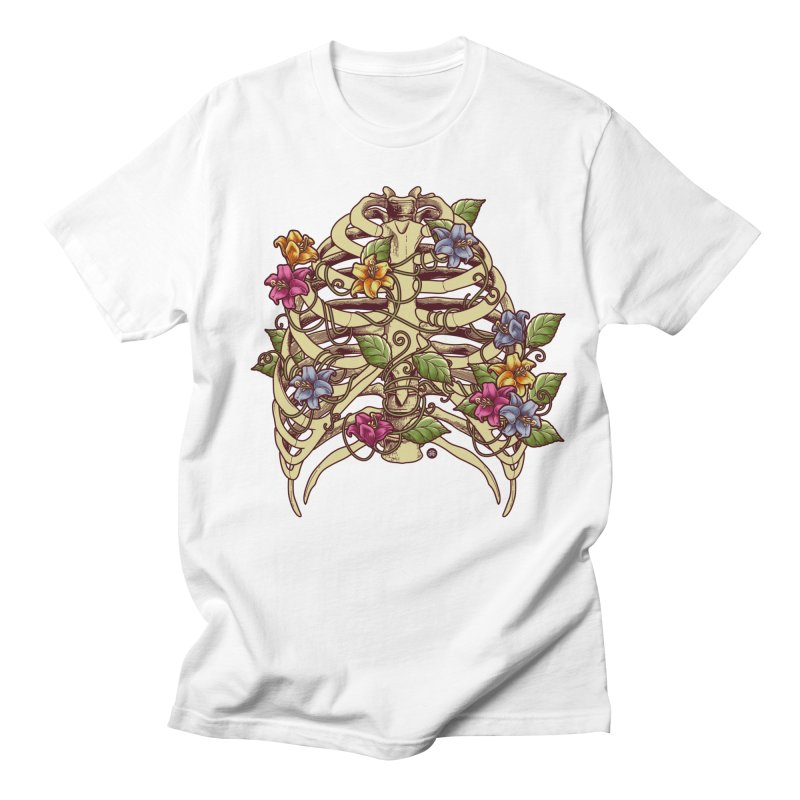 Rib Blossom Men's Regular T-Shirt by angoes25's Artist Shop