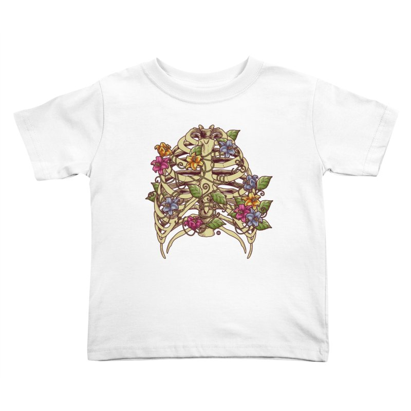 Rib Blossom Kids Toddler T-Shirt by angoes25's Artist Shop