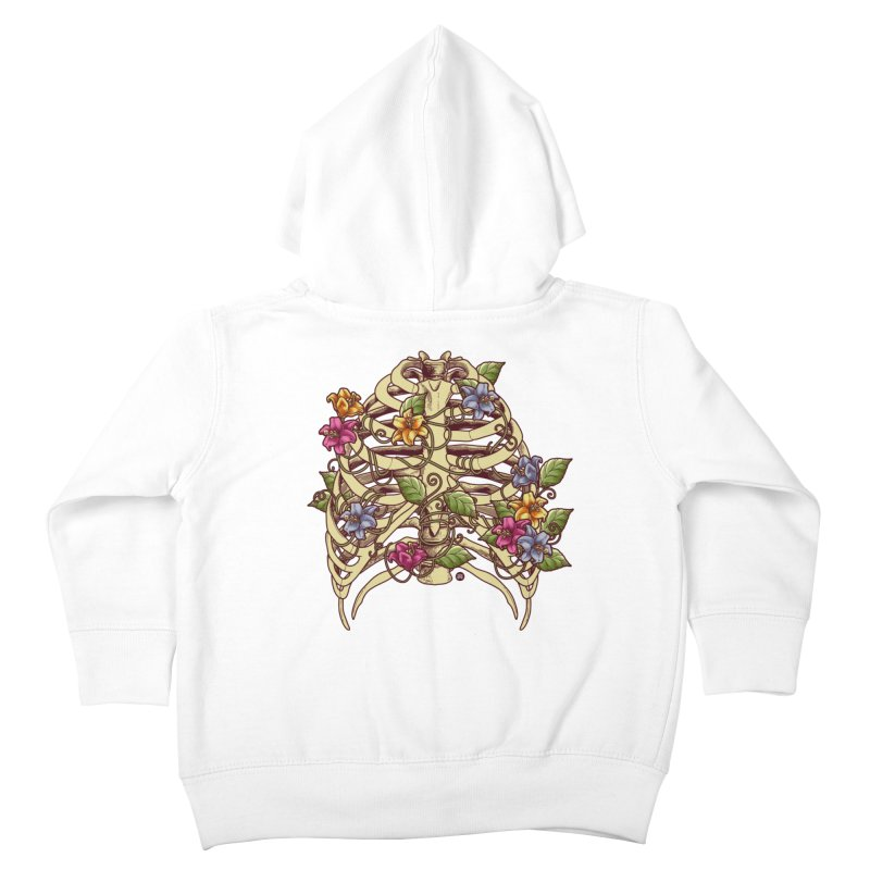 Rib Blossom Kids Toddler Zip-Up Hoody by angoes25's Artist Shop