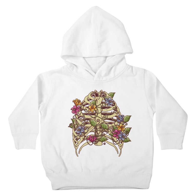 Rib Blossom Kids Toddler Pullover Hoody by angoes25's Artist Shop