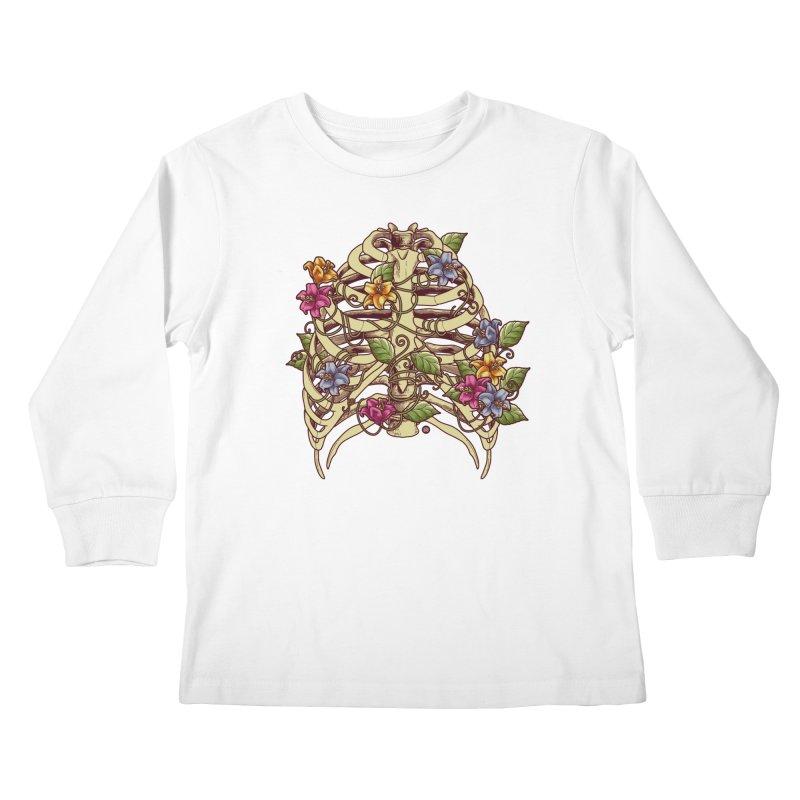 Rib Blossom Kids Longsleeve T-Shirt by angoes25's Artist Shop