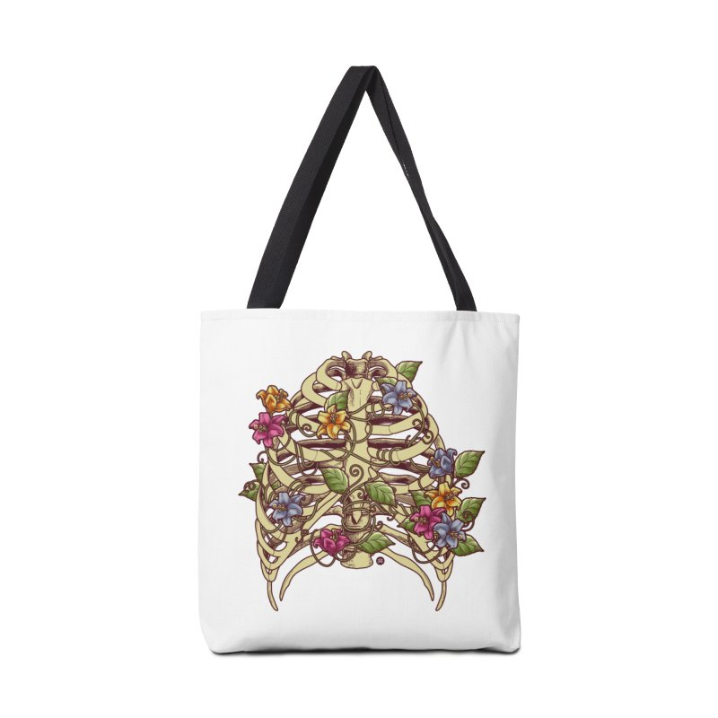 Rib Blossom Accessories Tote Bag Bag by angoes25's Artist Shop
