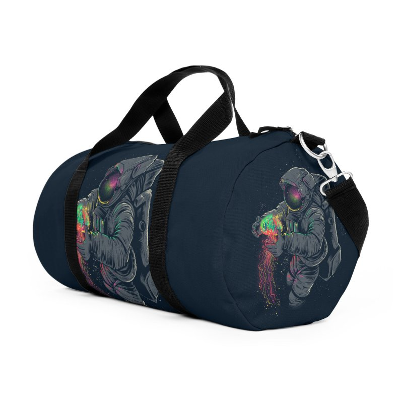 JellySpace Accessories Duffel Bag Bag by angoes25's Artist Shop