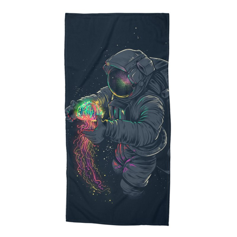 JellySpace Accessories Beach Towel by angoes25's Artist Shop