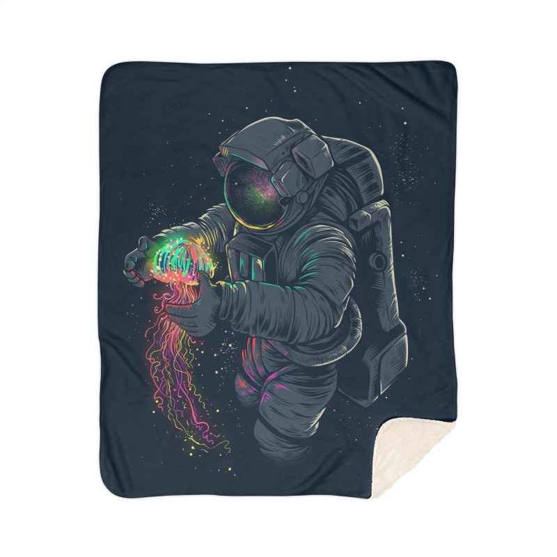JellySpace Home Sherpa Blanket Blanket by angoes25's Artist Shop
