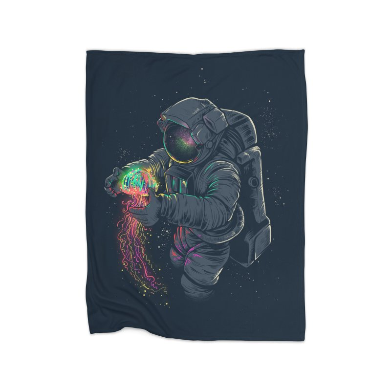JellySpace Home Blanket by angoes25's Artist Shop