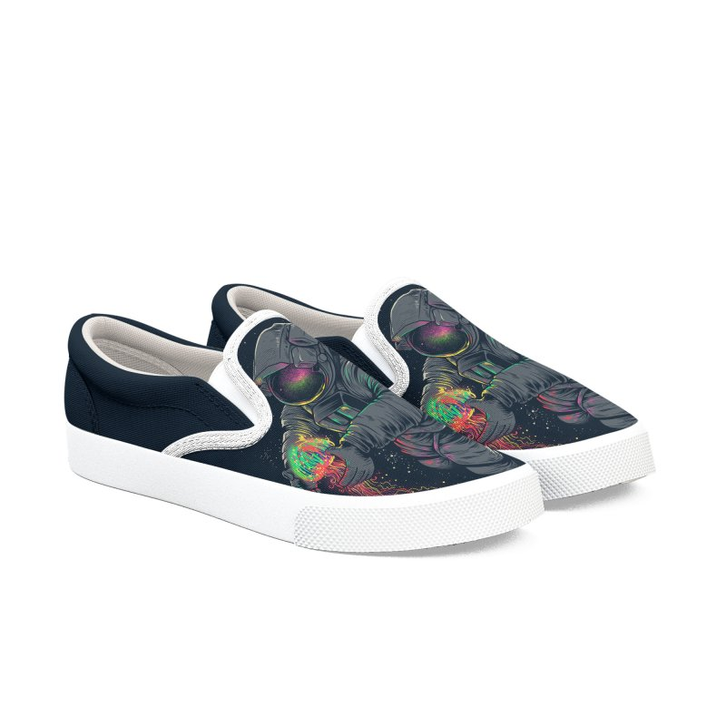 JellySpace Women's Slip-On Shoes by angoes25's Artist Shop