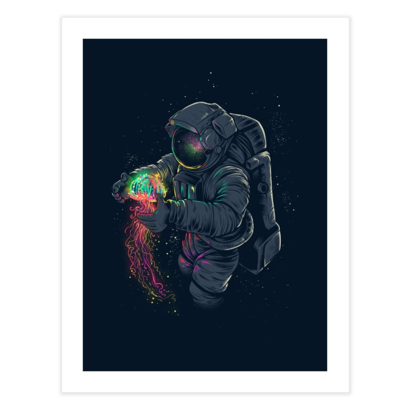 JellySpace Home Fine Art Print by angoes25's Artist Shop
