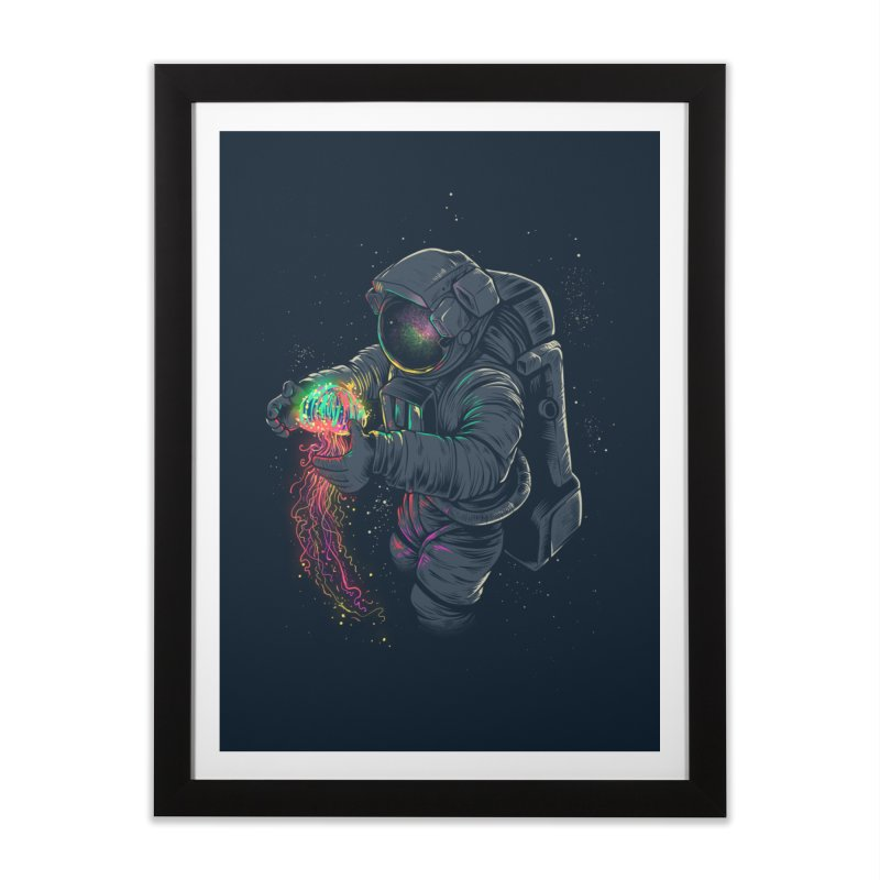 JellySpace Home Framed Fine Art Print by angoes25's Artist Shop