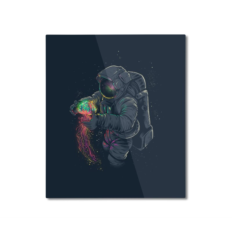 JellySpace Home Mounted Aluminum Print by angoes25's Artist Shop