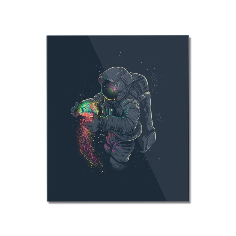 JellySpace Home Mounted Acrylic Print by angoes25's Artist Shop