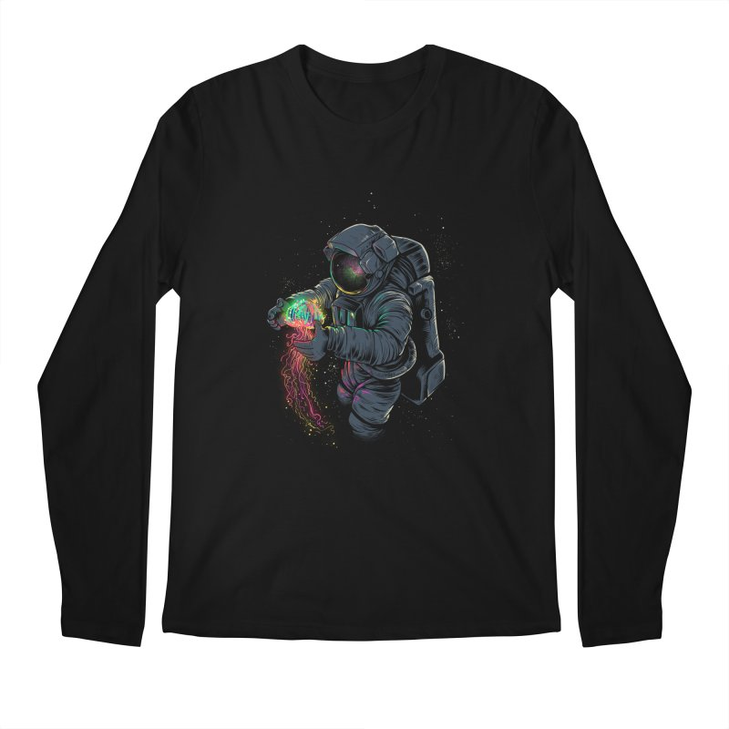 JellySpace Men's Longsleeve T-Shirt by angoes25's Artist Shop