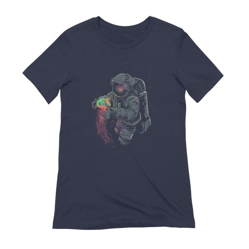 JellySpace Women's Extra Soft T-Shirt by angoes25's Artist Shop