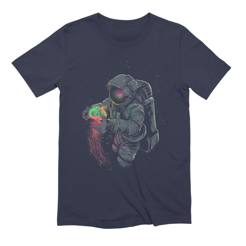 JellySpace Men's Extra Soft T-Shirt by angoes25's Artist Shop