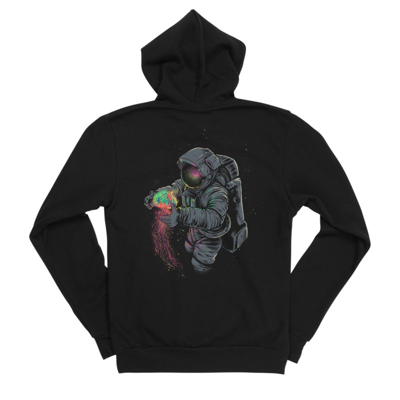 JellySpace Women's Zip-Up Hoody by angoes25's Artist Shop