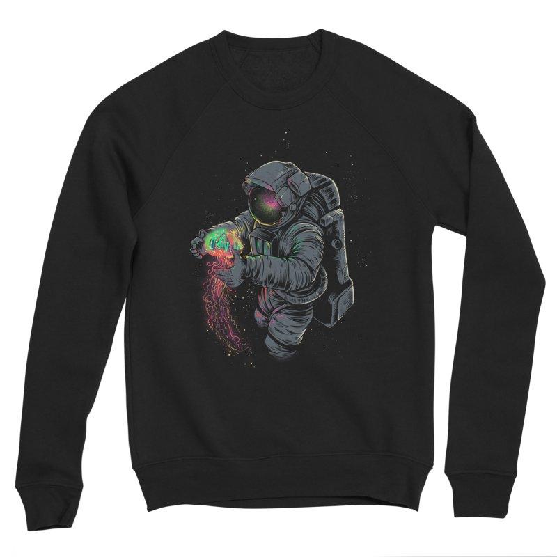 JellySpace Men's Sponge Fleece Sweatshirt by angoes25's Artist Shop