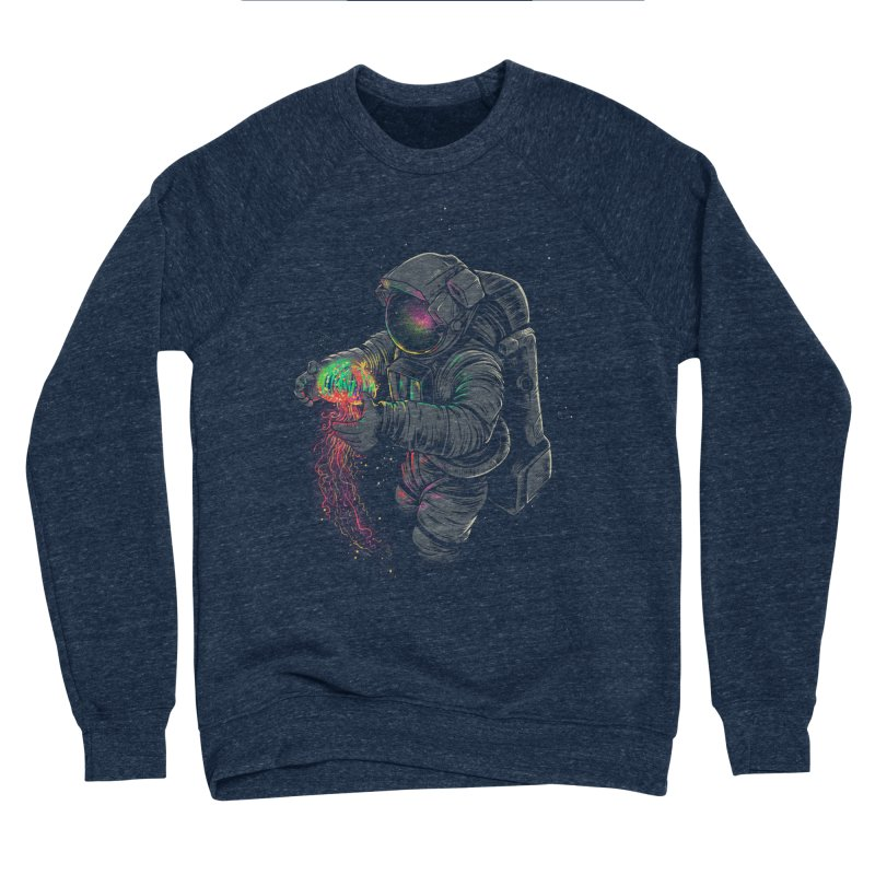 JellySpace Men's Sponge Fleece Sweatshirt by angoes25's Artist Shop